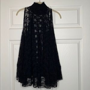 Free People Tops - Free People   Flowy   Loose   Lace Sleeveless top